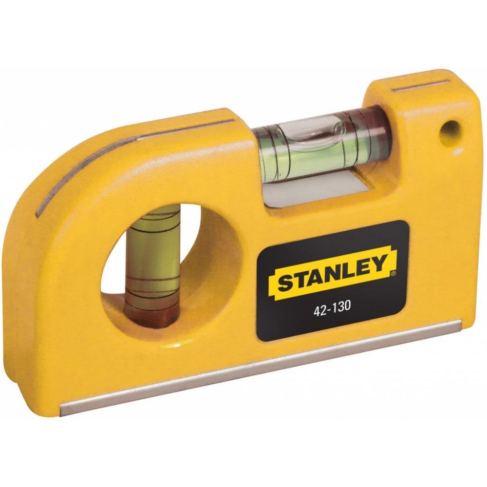 STANLEY mini vodováha magnetická, 2 libely 0-42-130