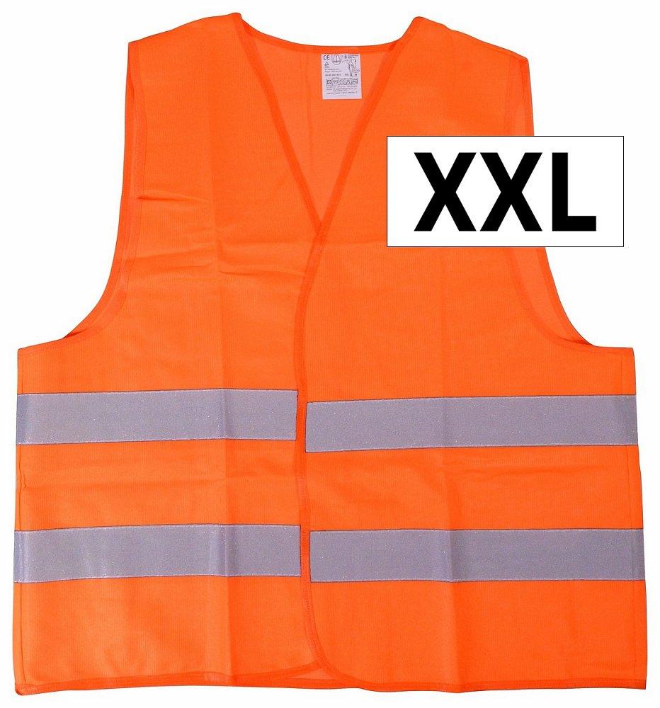 Vesta výstražná oranžová XXL EN 20471:2013 Nářadí 0.1547Kg AT-01512