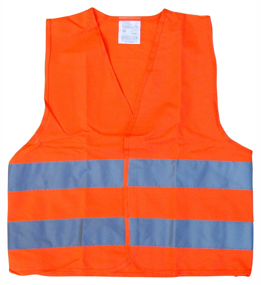 Vesta výstražná oranžová dětská EN 1150 Nářadí 0.08Kg AT-01513