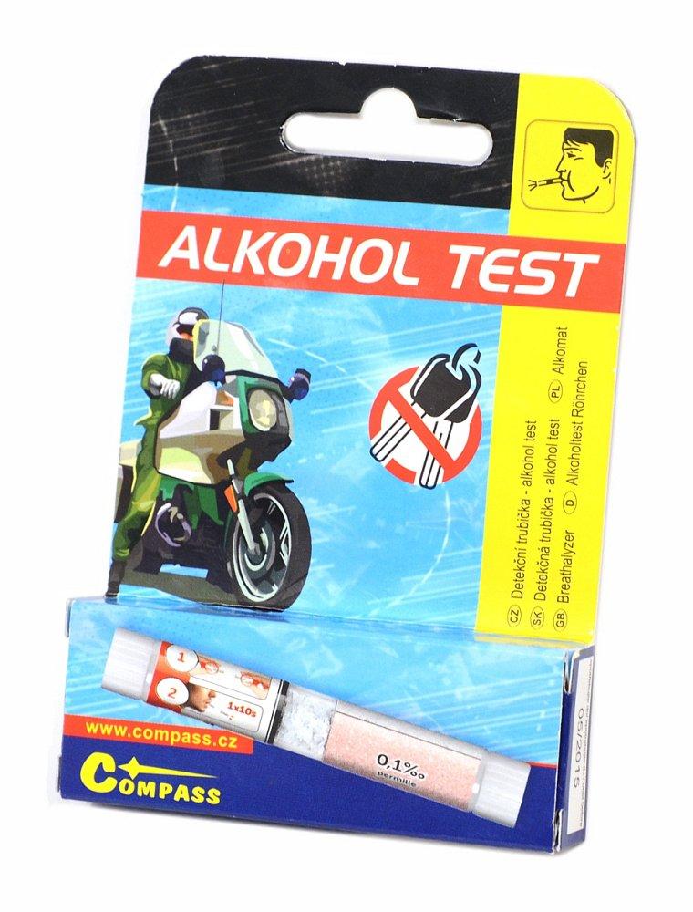 Detekční trubička - alkohol test Nářadí 0.0185Kg AT-01525
