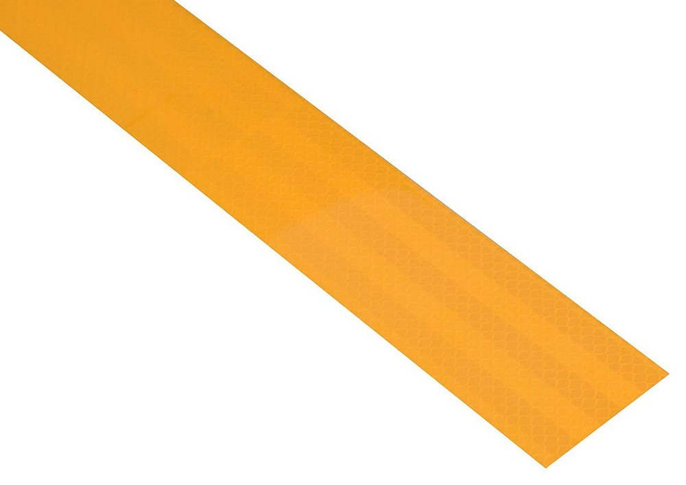 Samolepící páska reflexní 1m x 5cm žlutá