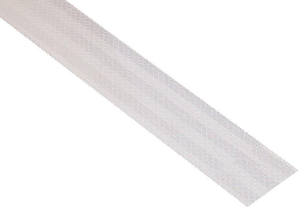 Samolepící páska reflexní 1m x 5cm bílá Nářadí 0.034Kg AT-01539