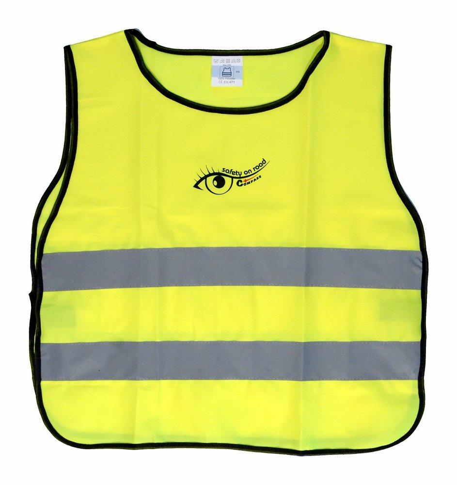 Vesta výstražná žlutá dětská S.O.R. Nářadí 0.1167Kg AT-01550