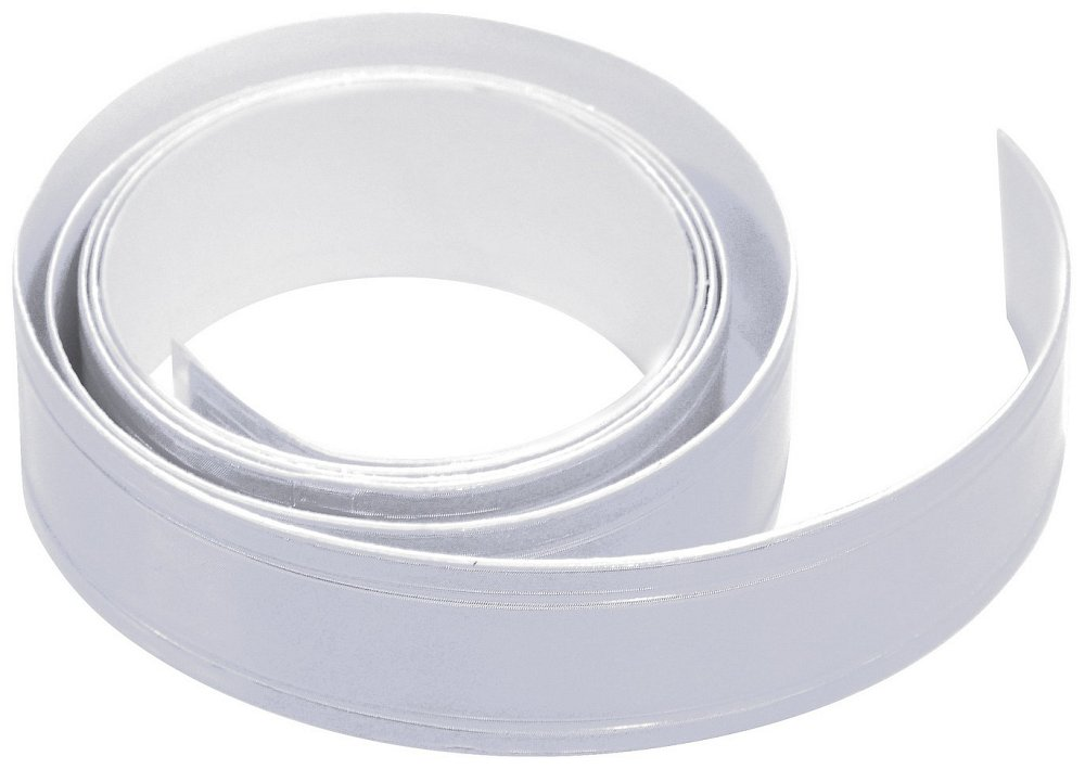 Samolepící páska reflexní 2cm x 90cm stříbrná Nářadí 0.019Kg AT-01585
