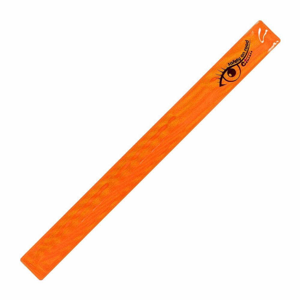 Pásek reflexní ROLLER S.O.R. oranžový Nářadí 0.02Kg AT-01700