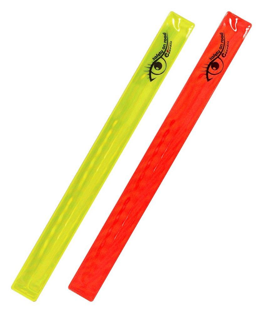 Pásek reflexní ROLLER 2ks žlutý + červený Nářadí 0.0125Kg AT-01709