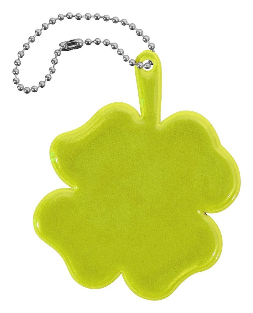 Přívěšek reflexní ČTYŘLÍSTEK - žlutý Nářadí 0.006Kg AT-01728