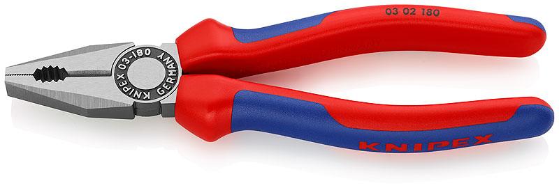 KNIPEX Kombinované kleště 180mm 0302180