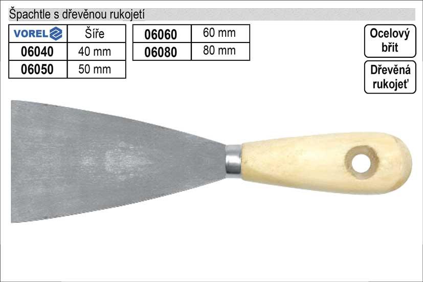 Špachtle Standart 60mm