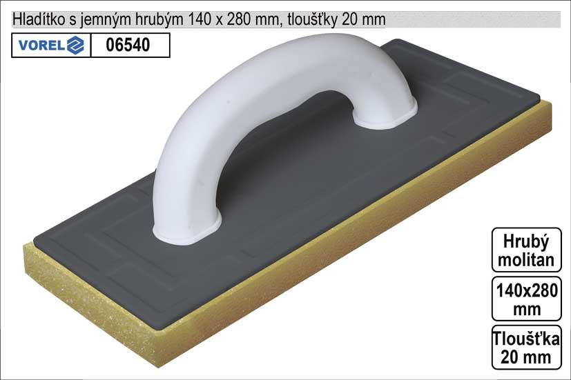 Hladítko molitanové hrubé 270x140mm