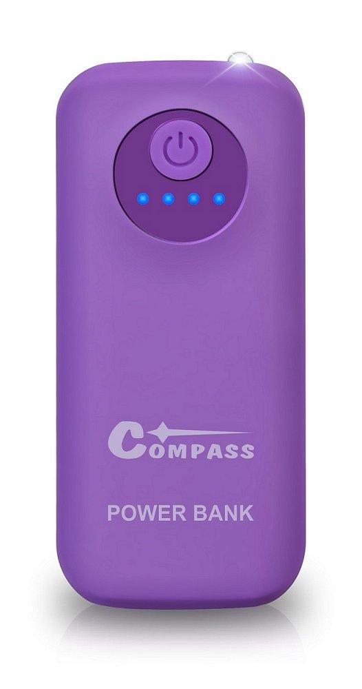 POWER BANK 5200mAh + 30cm kabel