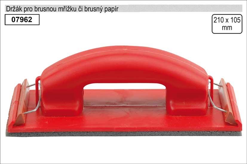 Držák pro brusnou mřížku či brusný papír rozměr 105x210mm
