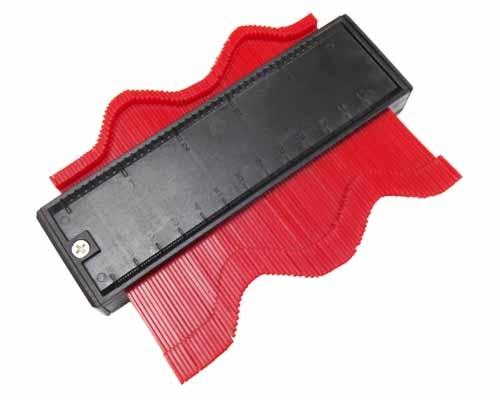 Šablona kopírovací na profily, magnetická, šíře 125 mm, MAGG