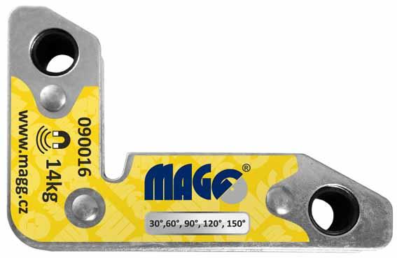 Úhelník magnetický, úhlový, nosnost 14 kg Nářadí 0.4Kg 90016