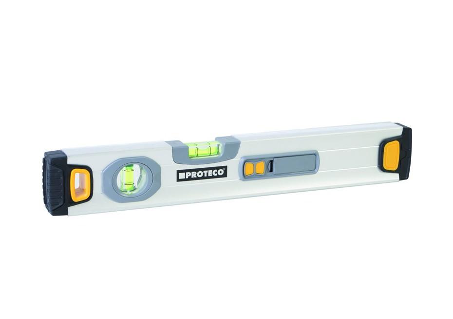 PROTECO vodováha 40 cm s laserem Nářadí-Sklad 2 | 0,25 Kg