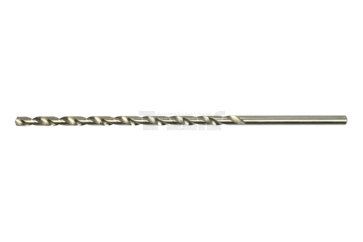 Vrták do kovu HSS, průměr 8,0 mm, délka 290 mm, prodloužený extra dlouhý 100-03515