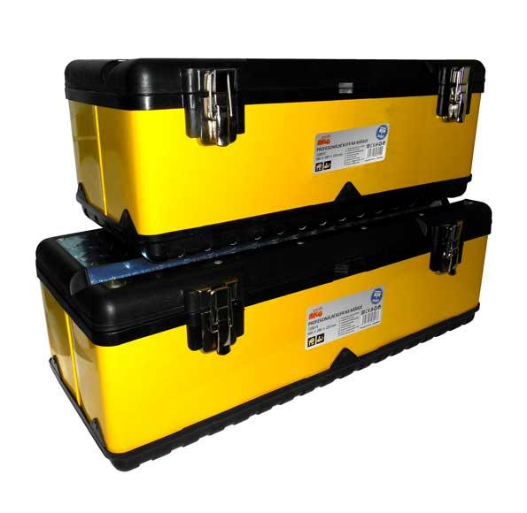 MAGG Profesionální kufr na nářadí - kov + plast (580 x 280 x 220mm) 120013