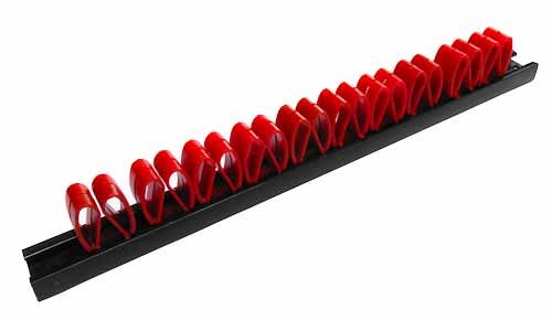 Plastová lišta na nářadí 270x20x35mm, 20 pozic, Magg