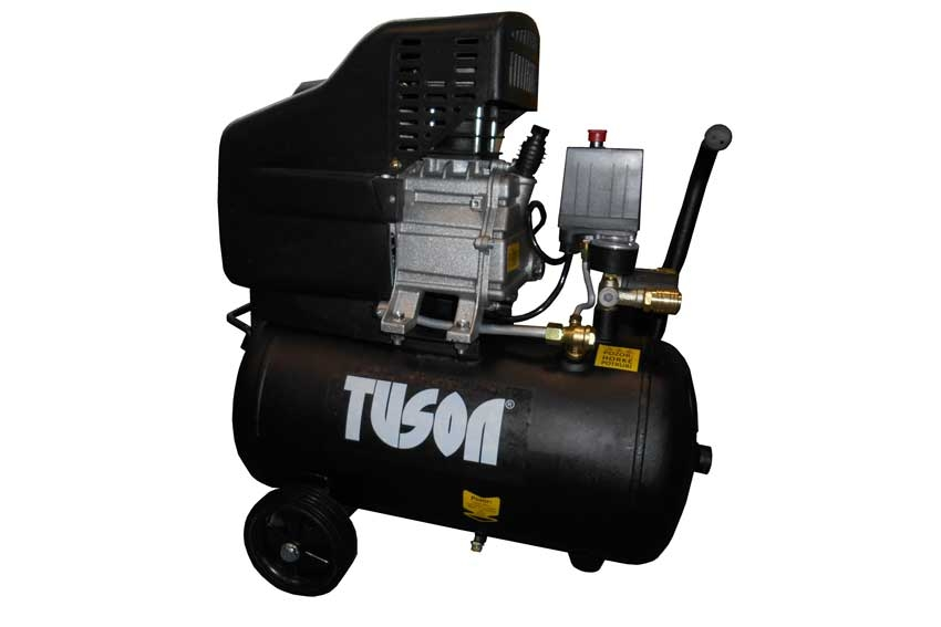 Kompresor olejový jednopístový 24L 1,5kW / 230V TUSON