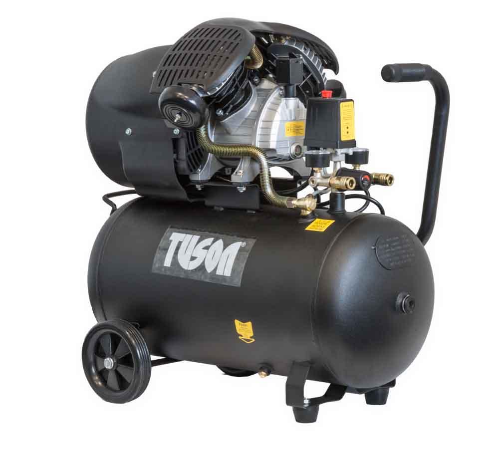 Kompresor olejový dvoupístový 50L 3HP / 2200W / 230V TUSON
