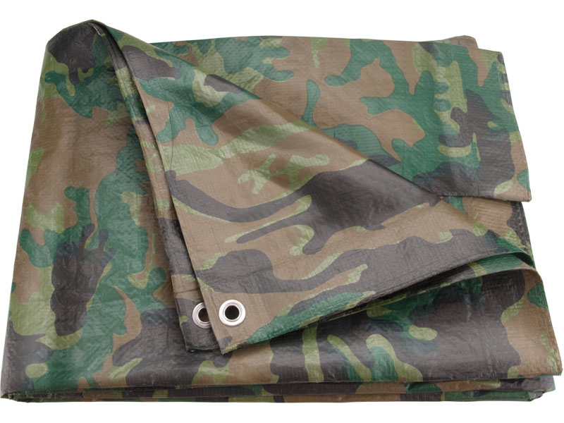 plachta maskovací PE nepromokavá 100g/m2, 4x6m, PE, EXTOL CRAFT
