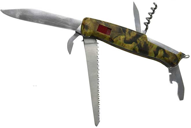 Nůž zavírací multifunkční Victor s pilkou