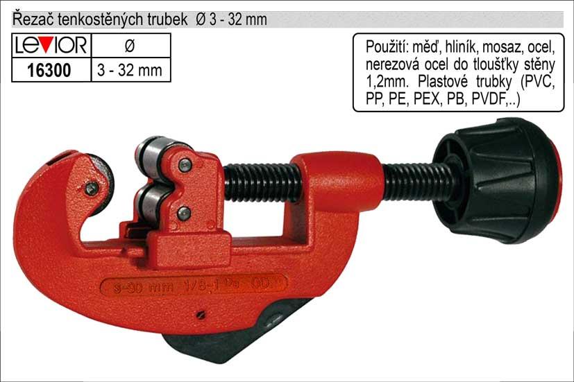 Řezač tenkostěnných trubek  3-32mm Festa Nářadí 0.292Kg 16300