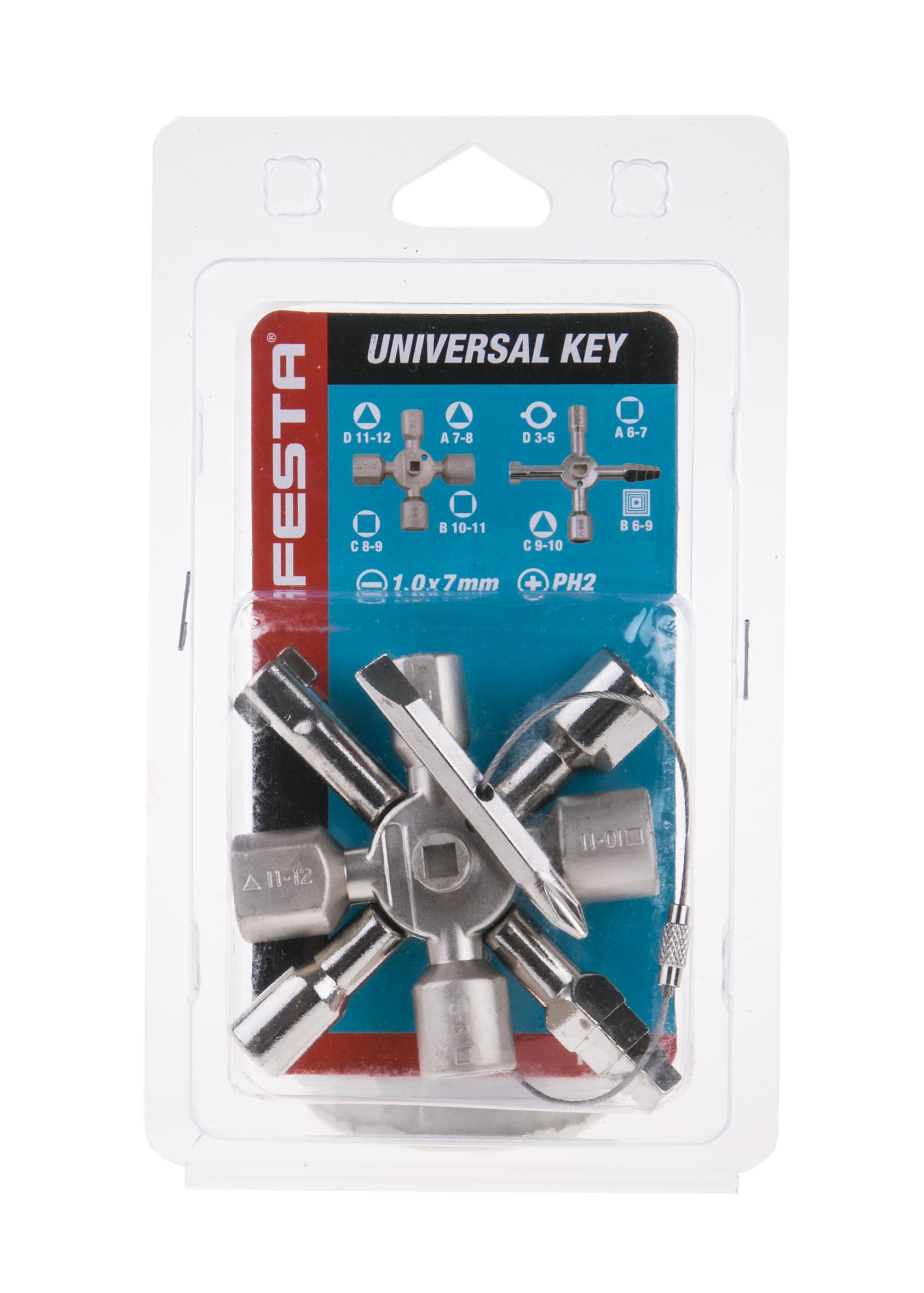 Univerzální klíč k rozvodným skříním Festa