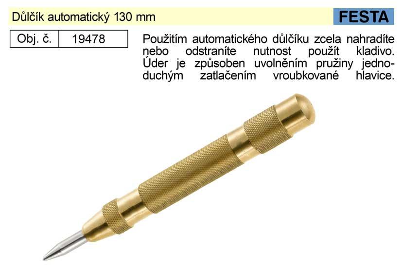 Důlčík automatický 130 mm