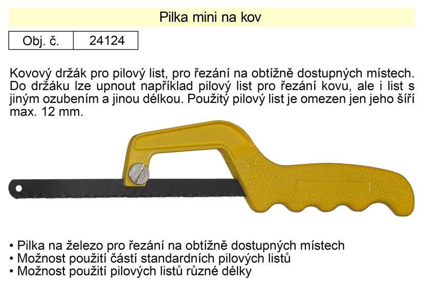 Pilka na železo mini 150 mm