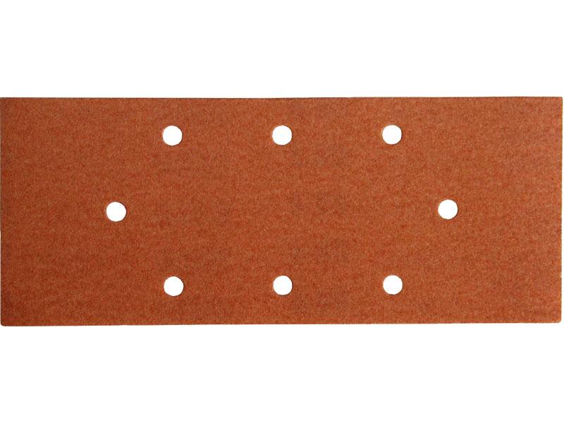 Brusný papír pro vibrační brusku balení 10 kusů hrubost P80 rozměr 93x230mm Nářadí 0.134Kg MA243080