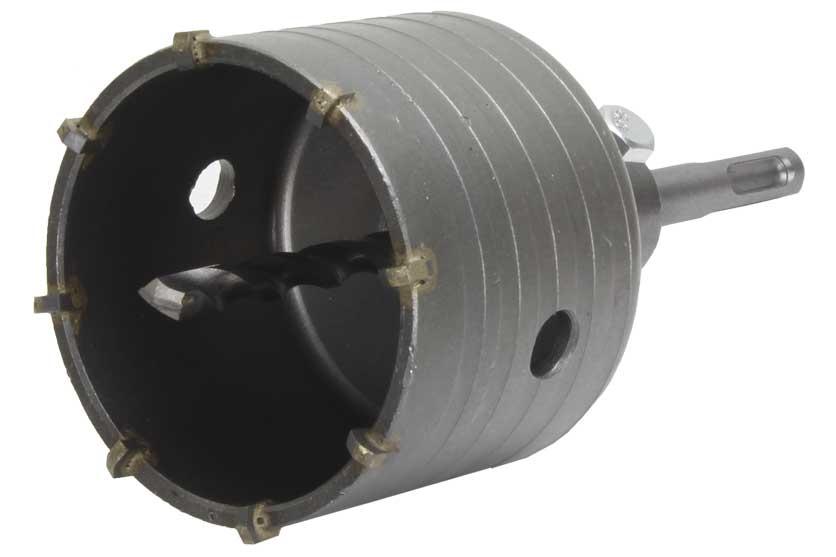 Vrták do betonu korunkový průmer 73mm se stopkou SDS Plus