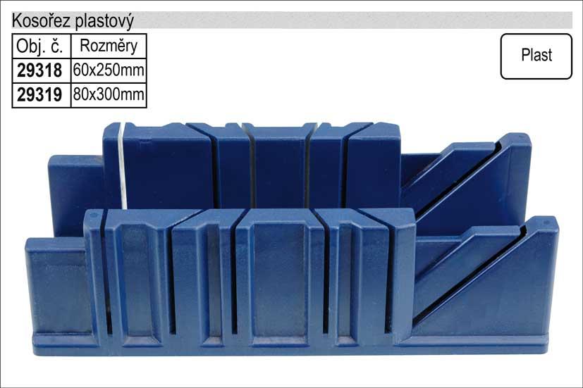 Kosořez plastový 60x250mm
