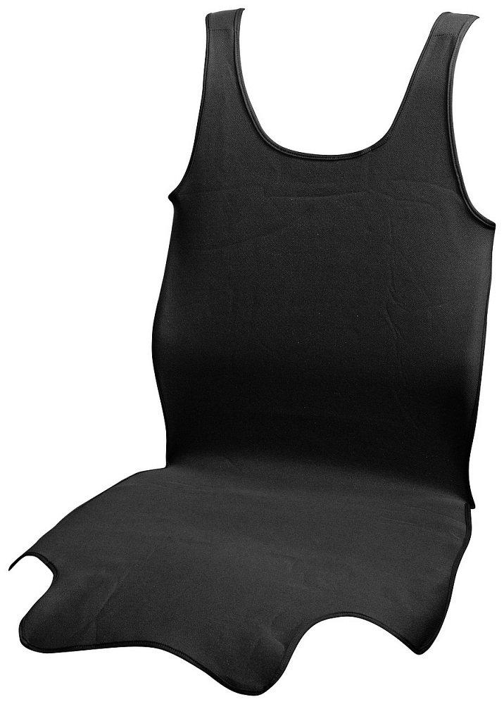 Potah sedadla TRIKO SOFT přední 1ks černý Nářadí 0.1811Kg AT-31625