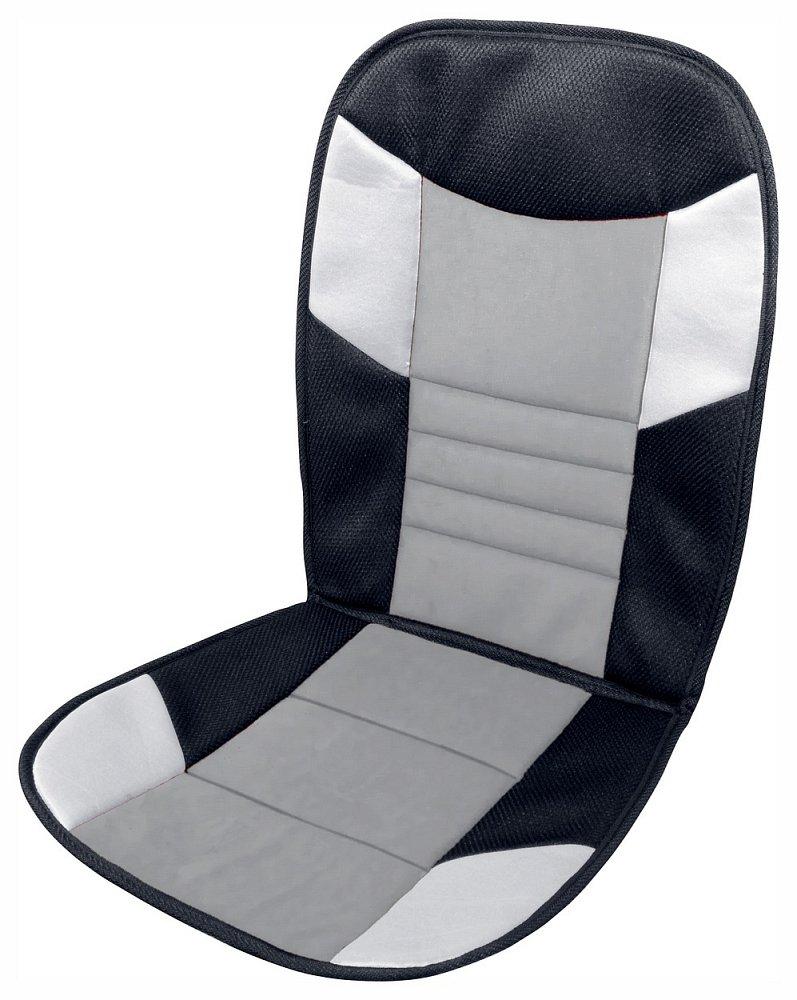Potah sedadla TETRIS černo-šedý