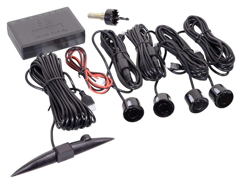 Parkovací asistent 4 senzory, LED displej Nářadí 0.4675Kg AT-33602