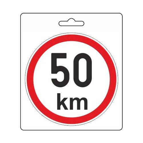 Samolepka omezená rychlost 50km/h (110 mm) Nářadí 0.003Kg AT-34484