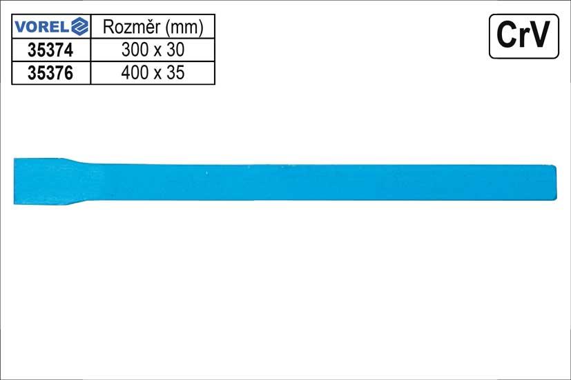 Sekáč plochý 400x35mm Juco