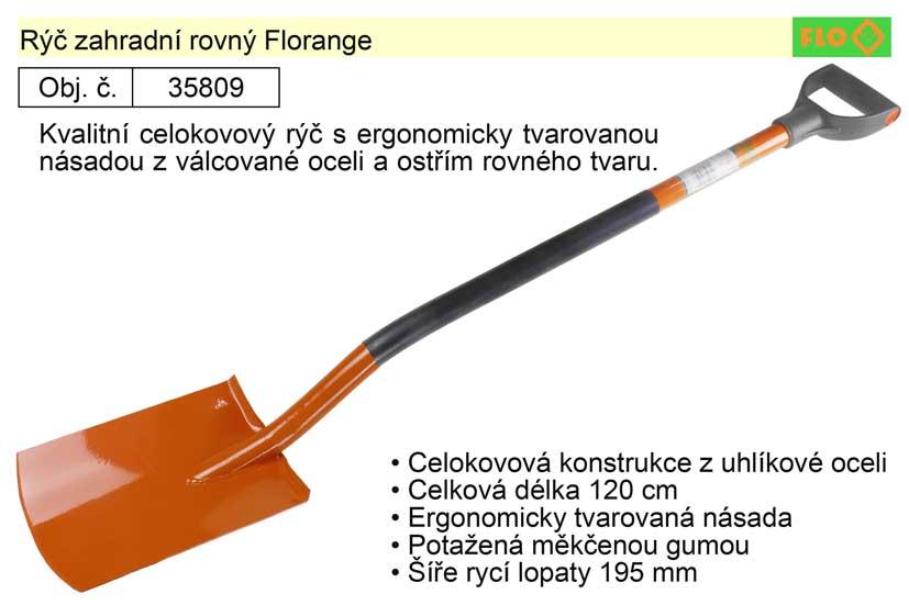 Rýč zahradní rovný Florange