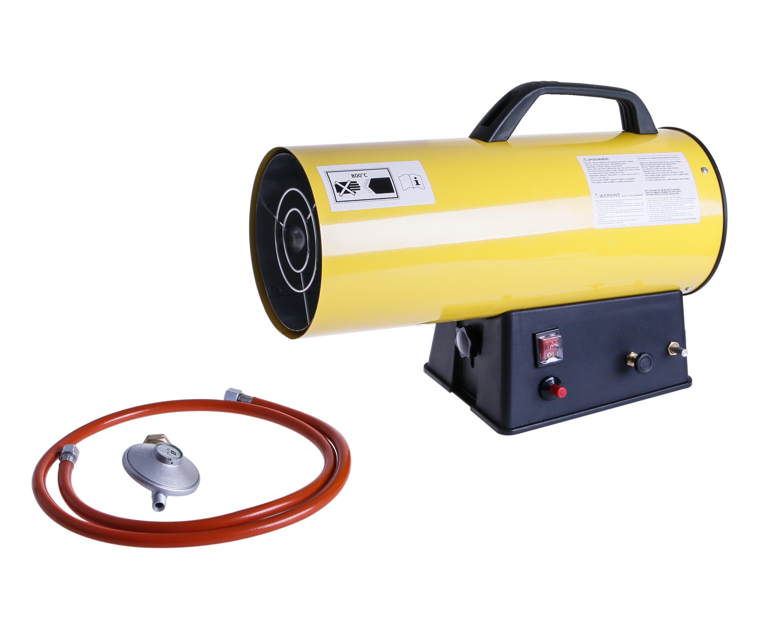 Plynové topidlo 15kW/230V plynový ohřívač s ventilátorem 300m3/h