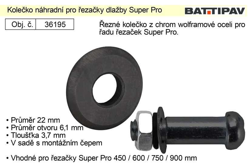 Kolečko náhradní pro řezačky dlažby Super Pro