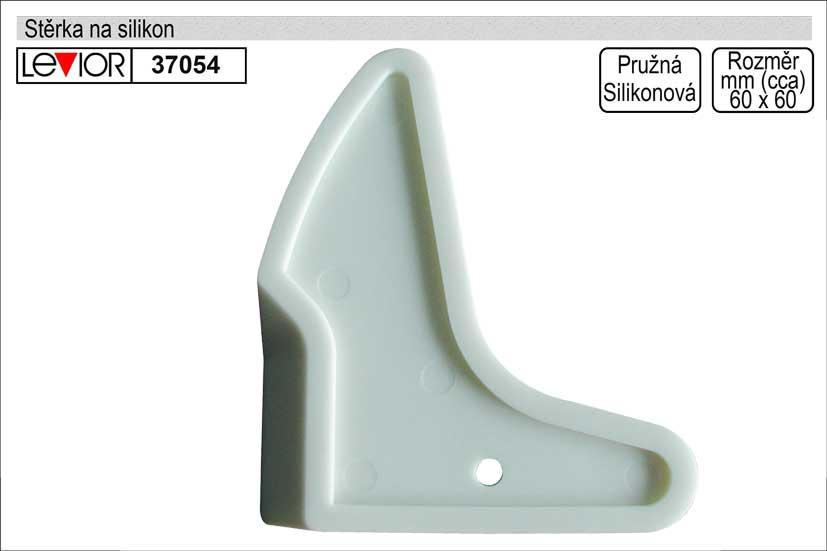Stěrka na silikon a akrylátové tmely, gumová, tvarovaná Nářadí 0.031Kg 37054
