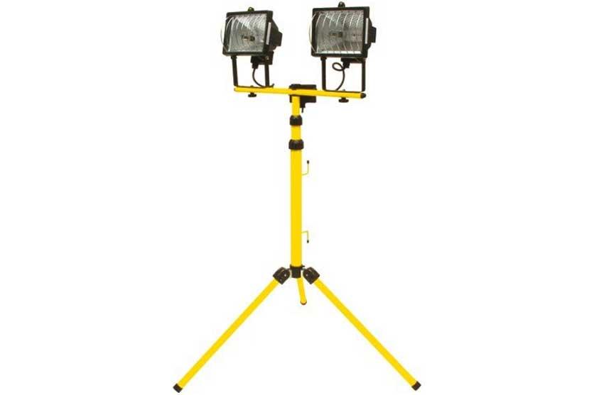 Reflektor halogenový 2 x 500 W na stojanu Tripod