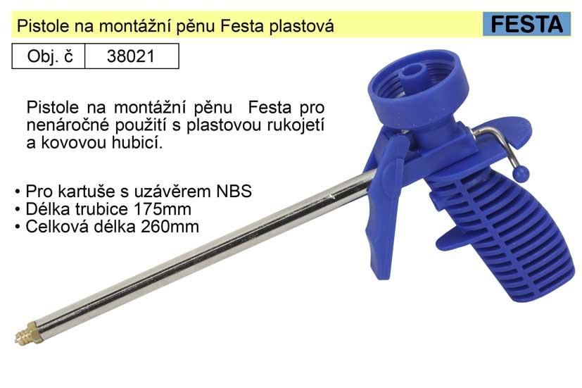 Pistole na montážní pěnu Festa plastová