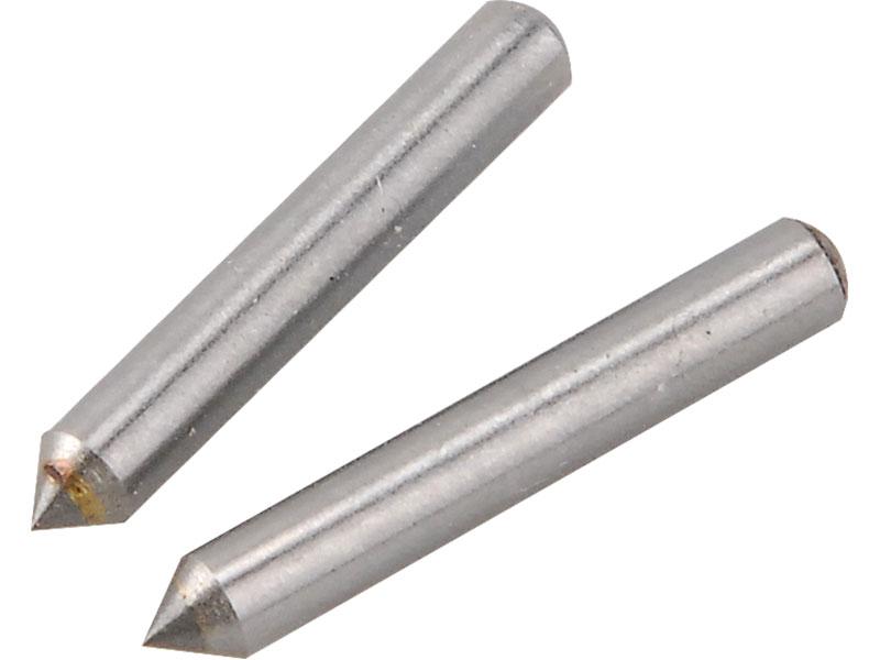 náhradní hroty pro gravírku 404130, 2ks, 3,1x21mm, karbid wolframu,