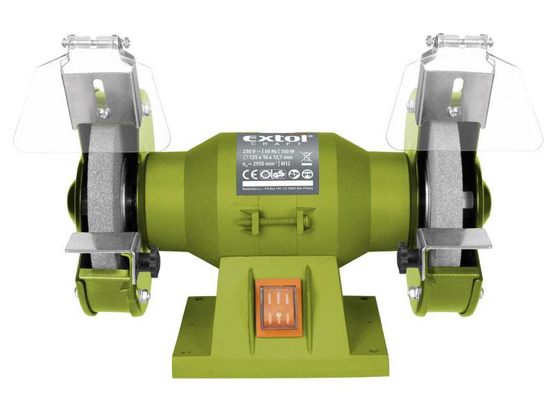 Bruska dvoukotoučová 150 W Extol 410120