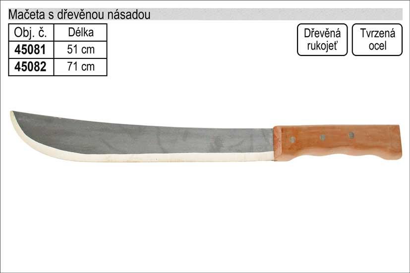 Mačeta délka 710mm