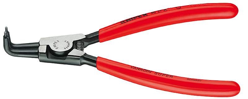 KNIPEX kleště na pojistné kroužky seger vnější zahnuté 90°40-100mm