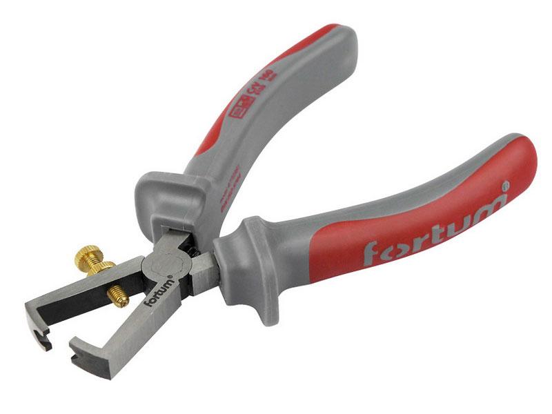 kleště na odizolovávání kabelů, 160mm, 61CrV5, FORTUM Nářadí 0.203Kg MA4770381