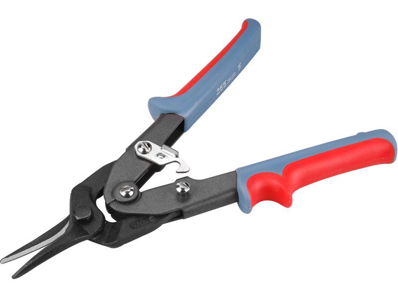 Nůžky na plech, převodové, rovné,  CrMo-V, délka 255 mm, Extol Premium
